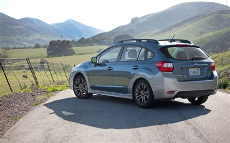 Subaru Impreza Sport by 2012 Subaru Impreza Sport Limited Rear Three Quarters Photo 10