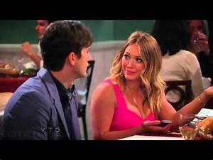 Hilary Duff on Two and a Half Men [2 of 3] - YouTube