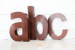 Rustic metal letter the magnolia market wall art for Magnolia market metal letters