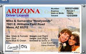Fake ID Drivers License Template