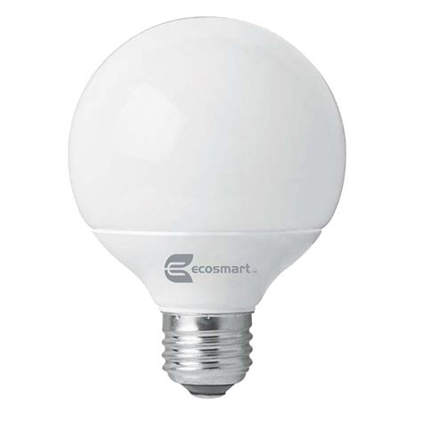 ecosmart 40w equivalent soft white g25 cfl light bulb 2
