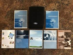 2005 Ford Escape Hybrid Owners Manual W   Case