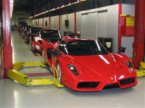 Pics The Ferrari Manufacturing Facility  Factory Teambhp