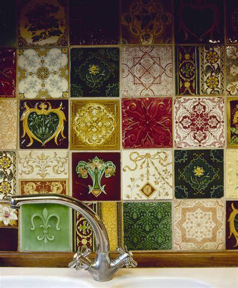 handmade kitchen tiles handmade backsplash tiles photos design ideas remodel 1554