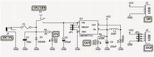 Usb Car Charger Circuit Diagram