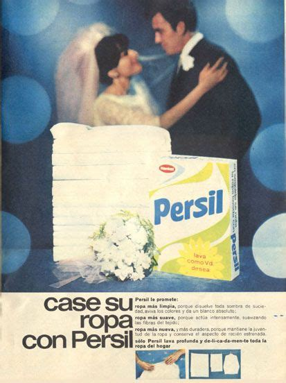 publicidad espanola del detergente persil de