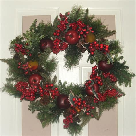 traditional christmas wreath laundry room dc metro