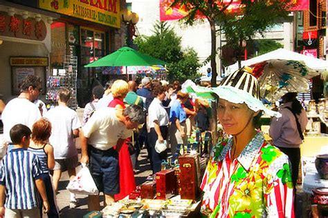 le quartier chinois de winnipeg bazar dans le quartier chinois de montréal