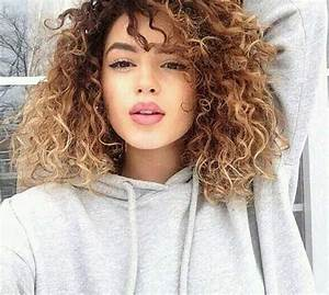 25 Light Curly Hair Hairstyles Haircuts 2016 2017