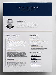 23 free creative resume templates with cover letter idevie for Free creative cover letter templates