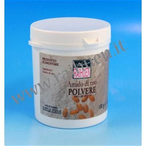 amido alimentare amido di riso purissimo in polvere erboristeria natur farma