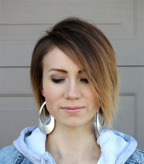 New Hair  Ombre Asymetrical Long Pixie Cut   ONE little MOMMA