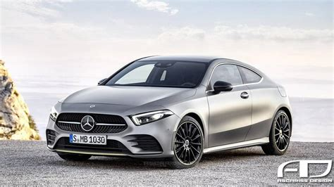 2019 Mercedes Aclass Coupe Rendering Photo