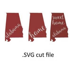 Alabama State SVG Cutting Files