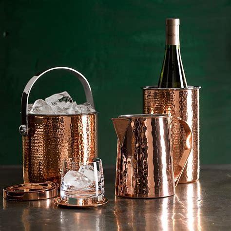 hammered copper wine chiller williams sonoma au
