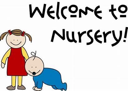 Nursery Clipart Welcome Church Clip Sign Lds