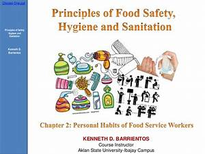 Chapter 2 (Personal Habits of Food Service Workers)