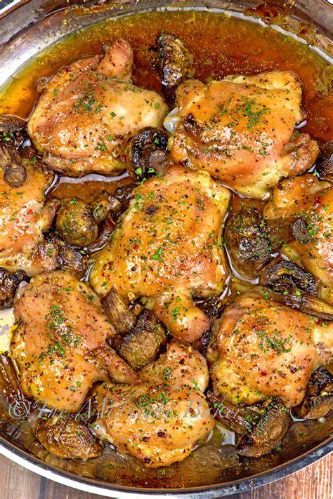 3 ingredient italian chicken the midnight baker