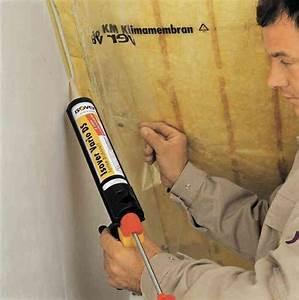 Dampfbremse An Mauerwerk Verkleben : dachd mmung dach d mmen isover erkl rt wie erste schritte ~ Watch28wear.com Haus und Dekorationen