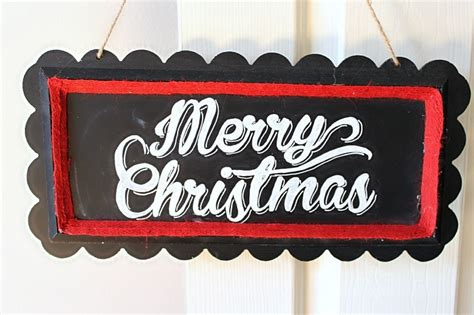 merry christmas chalkboard sign merry chalkboard sign domestically creative