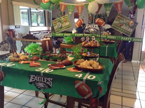 Philadelphia Eagles Football Birthday Party Ideas Photo