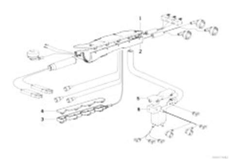 original parts for e36 316i m43 sedan engine electrical system cable holder 2 estore