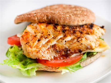 grouper sandwich fish recipes burger recipe grilled fresh herb fried food sandwiches cooked lunch tasty fine crusted healthier kitchen version