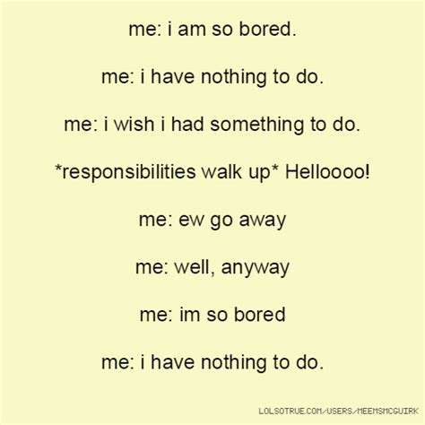 Im Bored As Hell Quotes