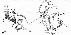 Honda Atv 2002 Oem Parts Diagram For Oil Cooler