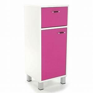 meuble bas salle de bain rose achat vente meuble bas With meuble salle de bain rose