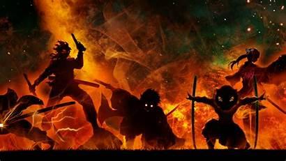 Slayer Demon 4k Anime Background Slayers Wallpapers