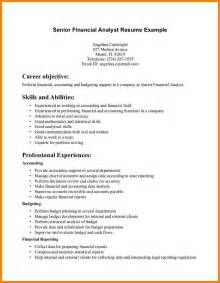 resume cover letter exles financial analyst exles of resumes resume simple best and format sles in exle 89 fascinating