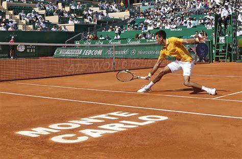 tennis monte carlo ah djokovic a chak inkhel