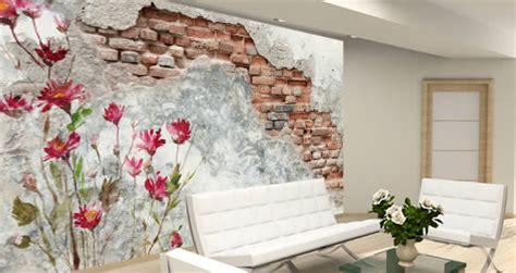 flowers   wall murals dezign