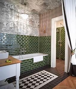 Gorki Apartments Berlin : 40 green wall tiles for bathroom ideas and pictures ~ Frokenaadalensverden.com Haus und Dekorationen