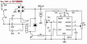 Storage Battery Charger Using Capacitor To Limit Current