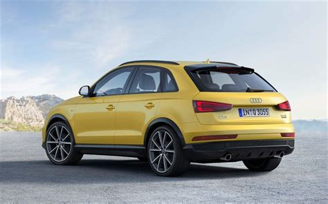 Audi Q3 4k Wallpapers by Wallpapers Audi Q3 2017 4k Crossover Rear