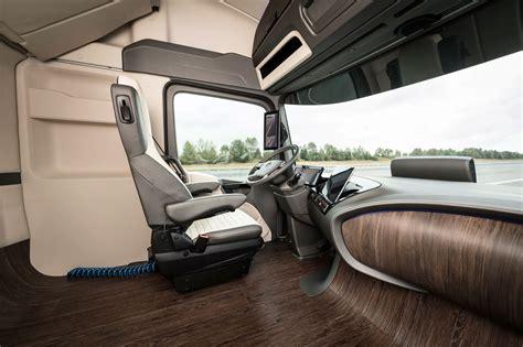 mercedes benz future truck  concept interior car