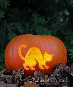 Halloween Kürbis Motive : halloweenbasteln katzen k rbis ~ Markanthonyermac.com Haus und Dekorationen