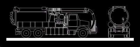 trucks vactor  autocad  cad   kb