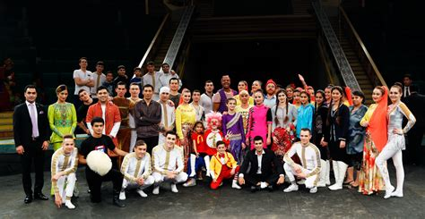 turkmenistan circus arts meridian international center