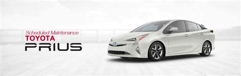 Toyota Service Schedule by Toyota Prius Scheduled Maintenance South Dade Toyota Of