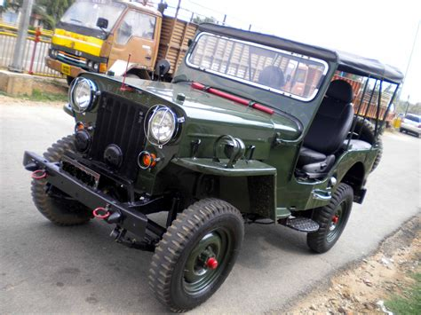 indian army jeep modified modified mahindra jeep for sale vehicles from karnataka