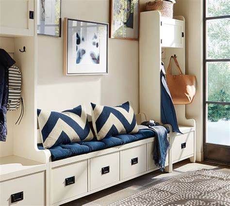 pottery barn entryway wade 3 bench tower entryway set pottery barn