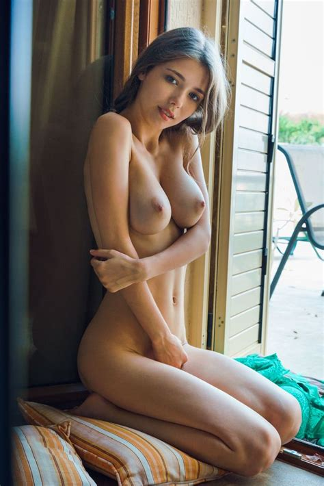 Teen Shaved Busty Brunette Babe Mila Azul With Big