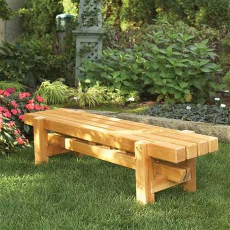 durable doable outdoor bench woodworking plan