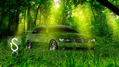 bmw crystal nature car  el tony