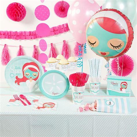 kids spa party ideas  pinterest pamper party