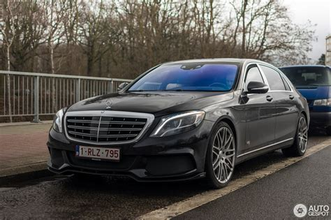 Brabus Maybach 900 Rocket by Mercedes Maybach Brabus 900 Rocket 21 February 2017