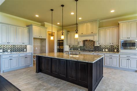 Perry Homes Design 4888s  Gourmet Kitchen Havenwood